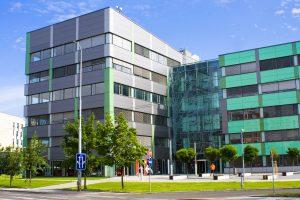 Commercial Electrical Building Landscape